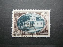 A.Pushkin # Russia USSR Sowjetunion # 1949 Used #Mi. 1351 - 1923-1991 URSS