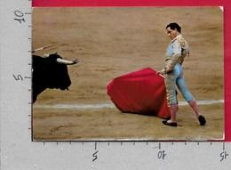 CARTOLINA VG SPAGNA - TOROS - El Viti - Cita Con La Derecha - Corrida - 10 X 15 - ANN. 1972 - Corrida