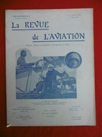 AVIATION REVUE ILLUSTREE AVIATRICES MARVINGT HERVEU HELENE DUTRIEU VENTILATEUR EIFFEL 1911 N° 50 - Books, Magazines, Comics