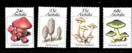 Serie De Australia Nº Yvert 752/55 ** SETAS (MUSHROOMS) - 1980-89 Elizabeth II
