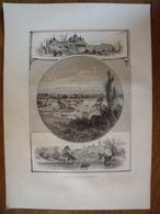 New-York, Le Parc De Prospect à Brooklyn    Gravure    1880 - Vieux Papiers