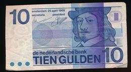 10 GULDEN     2 SCANS - [2] 1815-… : Royaume Des Pays-Bas