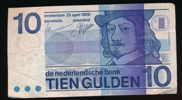 10 GULDEN     2 SCANS - [2] 1815-… : Koninkrijk Der Verenigde Nederlanden