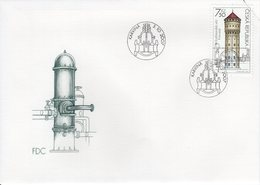 CZECH REPUBLIC  - 2007 Technical Monuments- Water Towers  FDC5898 - FDC
