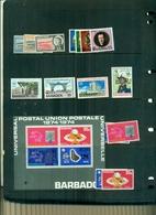BARBADOS 1 INDEPENDANCE -PORT-DIOCESE-100 U.P.U. 15 VAL+ BF NEUFS A PARTIR DE 0.80 EUROS - Barbados (1966-...)