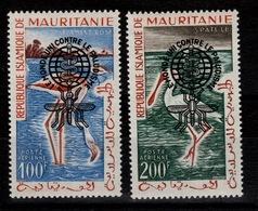 Mauritanie -YV PA 20C & 20 D N** Paludisme Sur Oiseaux - Mauritanie (1960-...)