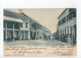 INDONESIE - HANDELSKADE - SOERABAIA 1900... - Indonesia