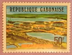 """GABON ANNEE 1977 YT 373 NEUF(**) """" CAP LOPEZ"""" - Gabon (1960-...)"""