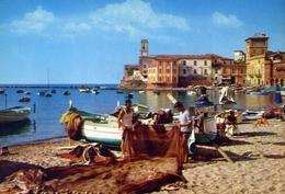 Sestri Levante - Genova - Baia Del Silenzio - La Spiaggia - Formato Grande Non Viaggiata – E 10 - Genova