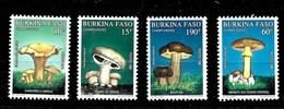 Serie De Burkina Faso Nº Yvert 1231/34 ** SETAS (MUSHROOMS) - Burkina Faso (1984-...)