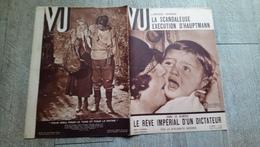 Revue Vu 1936 Execution De Hauptmann Vésuve Rêve Impérial Hitler Mussolini  Politique - Books, Magazines, Comics