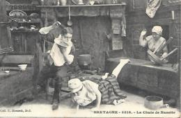 BRETAGNE LA CHUTE DE NANETTE - Francia