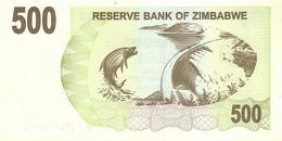ZIMBABWE P. 43 500 D 2007 UNC - Zimbabwe