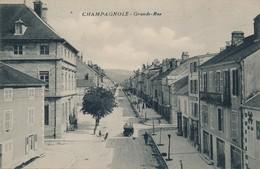 I23 - 39 - CHAMPAGNOLE - Jura - Grande Rue - Champagnole