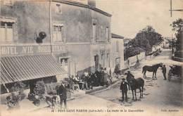 PONT SAINT MARTIN - (44) - La Route De La Chevrolière - Hôtel Roberteau - France
