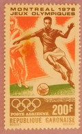 "GABON ANNEE 1976 PA  YT 185 NEUF "" JO DE MONTREAL"" - Gabon (1960-...)"