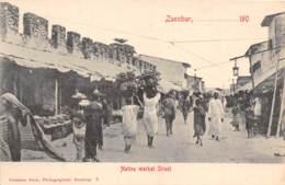 Zanzibar - Ethnic / 62 - Native Market Street - Tanzanie