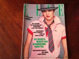 ELLE FRANCE Rivista Magazine 3 Aprile 1978 N.1682 Diane Keaton Richard Gere - Libri, Riviste, Fumetti