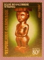 """GABON ANNEE 1980 YT 447 NEUF """" NOEL"""" - Gabon (1960-...)"""