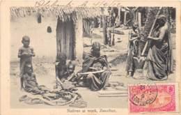 Zanzibar - Ethnic / 72 - Natives At Work - Belle Oblitération - Tanzanie