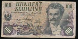 100 SCHILLING    2 SCANS - Oesterreich