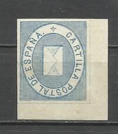 431-MNH** 75,00€ LUJO SELLO FRANQUICIA POSTAL 1869 Alegoría Postal. EDIFIL Nº1,CON LA GOMA ORIGINAL,SELLO CLASICO - 1850-68 Reino: Isabel II