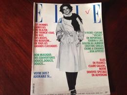 ELLE FRANCE Rivista Magazine 16 Gennaio 1978 N.1671 Yehudi Menuhin Annie Cordy - Libri, Riviste, Fumetti