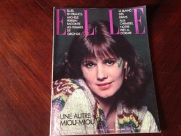 ELLE FRANCE Rivista Magazine 9 Gennaio 1978 N.1670 Miou Miou - Libri, Riviste, Fumetti