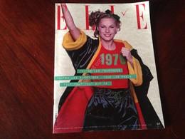 ELLE FRANCE Rivista Magazine 2 Gennaio 1978 N.1669 Toutes Les Tendences 1978 - Libri, Riviste, Fumetti