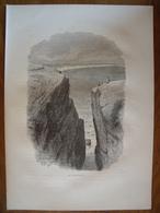 Rhode Island, Newport, Le Purgatoire    Gravure    1880 - Old Paper