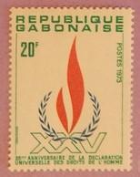 GABON ANNEE 1973 YT 328 NEUF** - Gabon (1960-...)