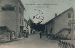 I23 - 39 - MOLINGES - Jura - Avenue De La Gare Et Hôtel De La Gare - Other Municipalities
