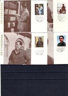 9802 China, VR, MK Mi 1916-19, MC, Persönlichkeiten - 1949 - ... Volksrepublik
