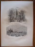 Rhode Island, Providence, Westminster Street, L'Hopital    Gravure    1880 - Vieux Papiers