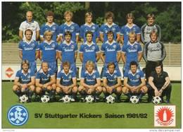 STUTTGARTER          Kickers        Germany     1981/82 - Calcio