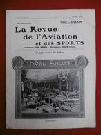 AVIATION ET SPORTS REVUE ILLUSTREE COMPTE RENDU SALON AÉRONAUTIQUE 1912 - Books, Magazines, Comics
