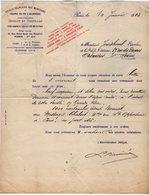 VP14.210 - Lettre - Société Française Des Munitions De Chasse De Tir & De Guerre GEVELOT & GAUPILLAT à PARIS - France