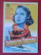 SPAIN CALENDARIO DE BOLSILLO CALENDAR EL SUBMARINO FANTASMA SUBMARINE SOUS-MARIN SUBMARINES. FILM CINE PELÍCULA VER FOTO - Tamaño Pequeño : 2001-...