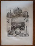 Boston, Massachusetts    Gravure    1880 - Vieux Papiers