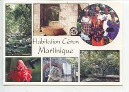 Martinique : Le Prêcheur - Habitation Ceron (multivues) - Andere