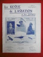 AVIATION ET SPORTS REVUE ILLUSTREE CONCOURS MILITAIRE ROI PIERRE DE SERBIE 1911 N° 61 - Livres, BD, Revues