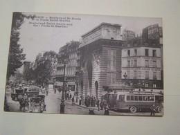 F6   PARIS  BD ST DENIS Et Porte St Martin  Animée - France