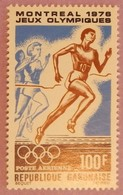 "GABON ANNEE 1976 PA  YT 184 NEUF**  "" JO DE MONTREAL"" - Gabon (1960-...)"