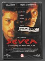Seven  Dvd   Morgan Freeman  Brad Pitt - Policiers