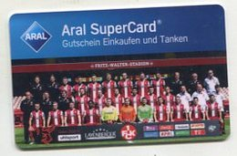 37750  Aral Super Card  - Football - 1. Fc Kaiserslautern - Team - Gift Cards