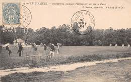 LE TOUQUET - Champions Anglais S'exerçant Au Tir à L'arc - Le Touquet