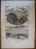 Glocester And Rockport    Gravure    1880 - Old Paper