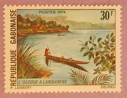 GABON ANNEE 1974 YT 332 NEUF - Gabon (1960-...)