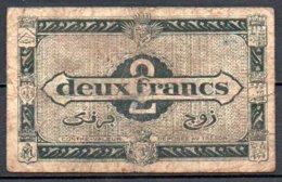 Algérie Billet De 2 Francs 1944 2e T Série G3 - Algérie