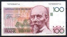 Belgique Billet De 100 Francs 1978-81 107 - [ 2] 1831-... : Royaume De Belgique